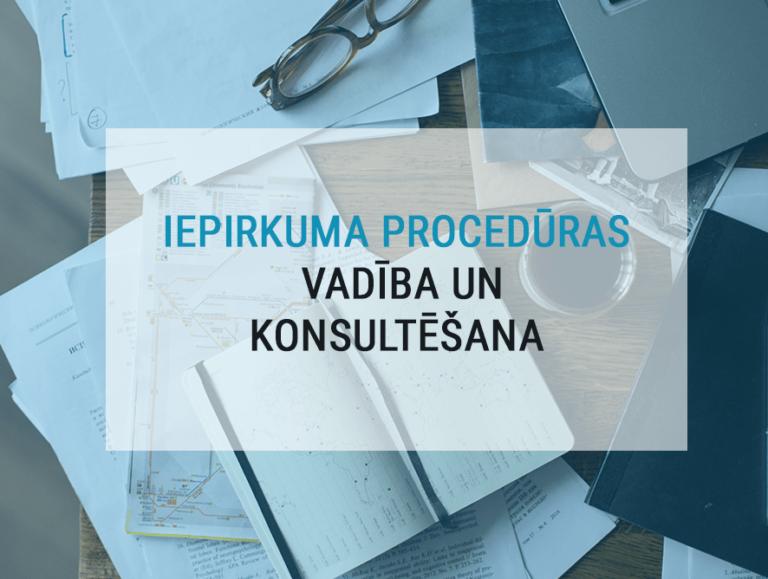 Iepirkuma procedūras vadība un konsultācijas