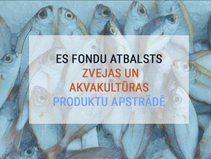 Atbalsts zvejas un akvakultūras produktu apstrādē, 10. kārta
