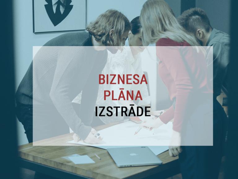 Biznesa plāna izstrāde