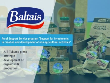 Strategic project A/S Tukuma Piens strategic development of organic milk production