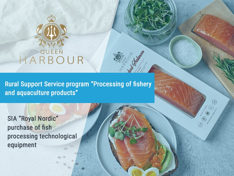 Purchase of SIA Royal Nordic fish processing technological equipment