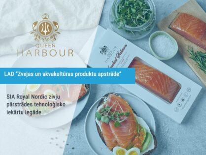SIA Royal Nordic zivju pārstrādes tehnoloģisko iekārtu iegāde
