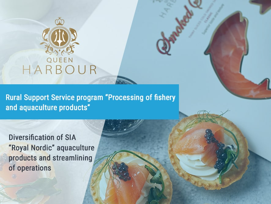 Diversification of SIA Royal Nordic aquaculture products and streamlining of operations
